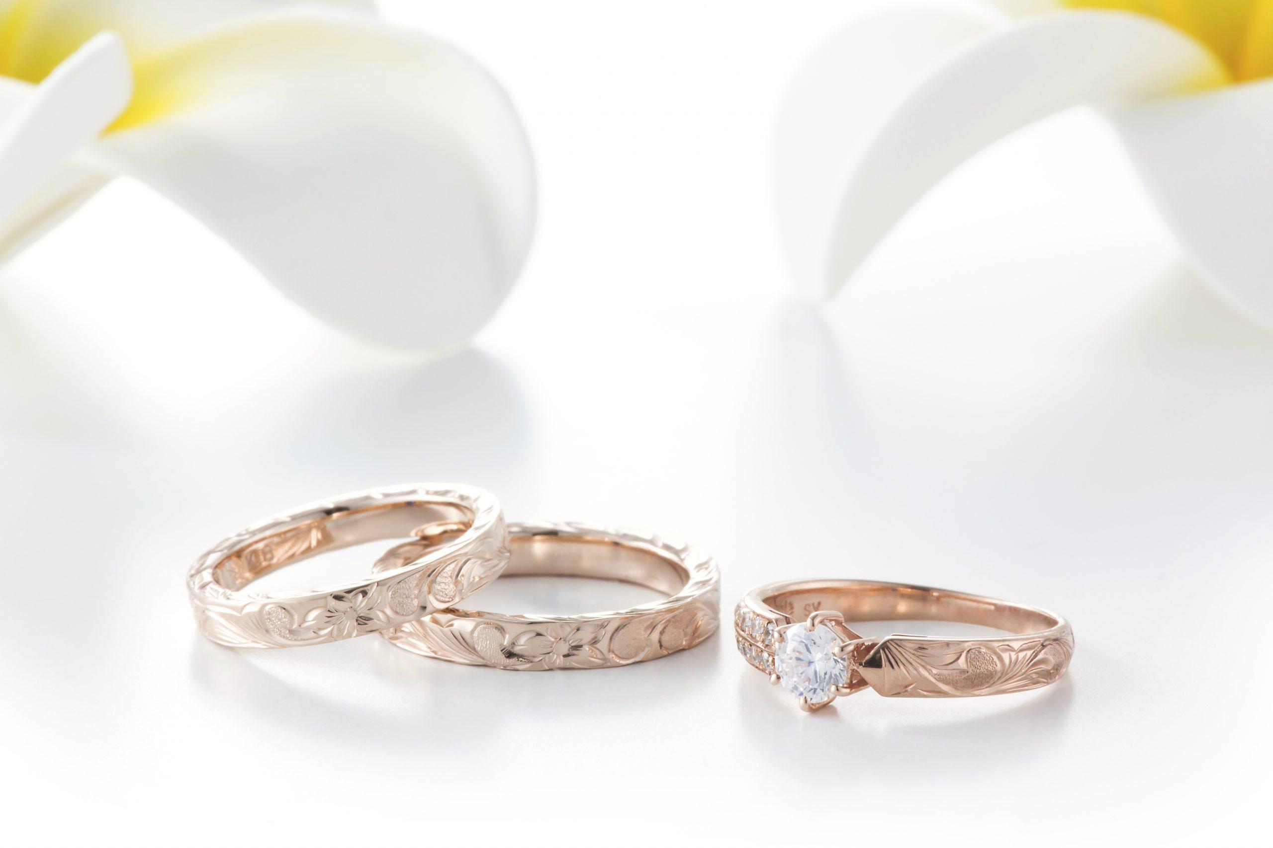 婚約指輪 結婚指輪 マカナ