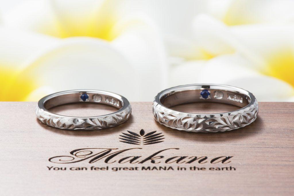 結婚指輪 マカナ