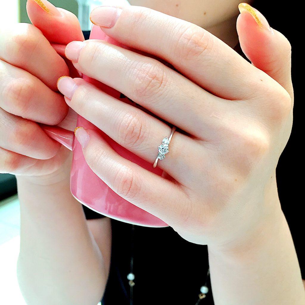 結婚指輪 婚約指輪 仙台 普段使い