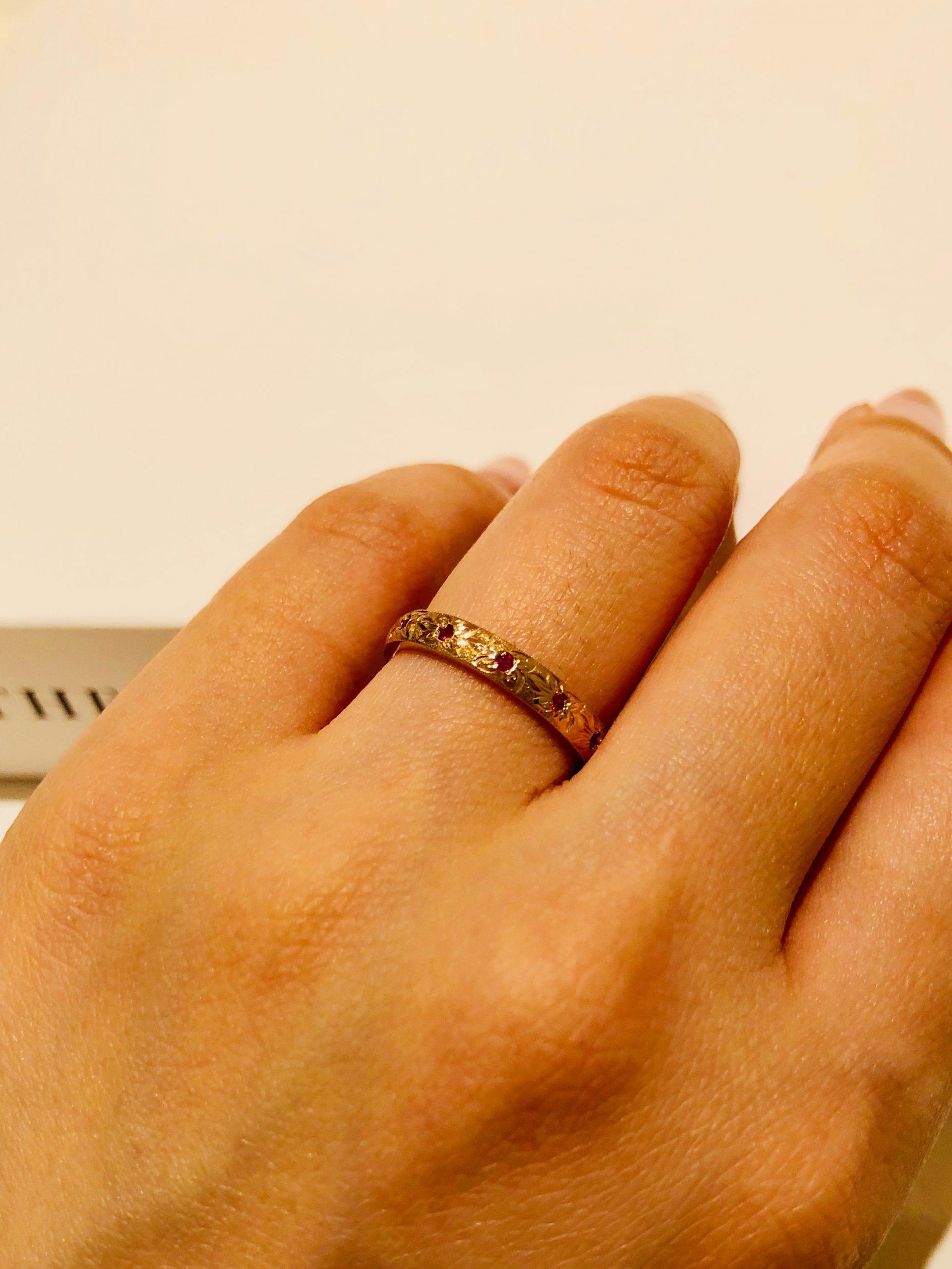 ハワイアンジュエリー,結婚指輪,仙台