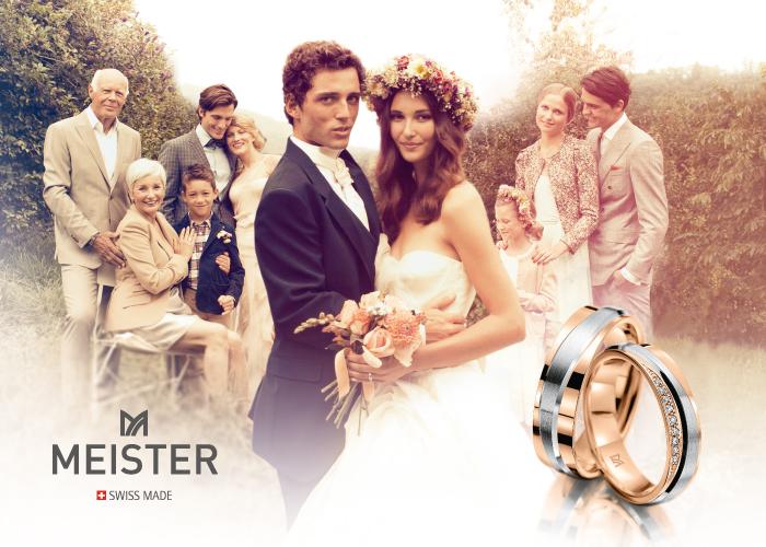 スイスメイドの鍛造結婚指輪ブランド「マイスター」