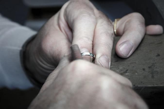 結婚指輪着け心地
