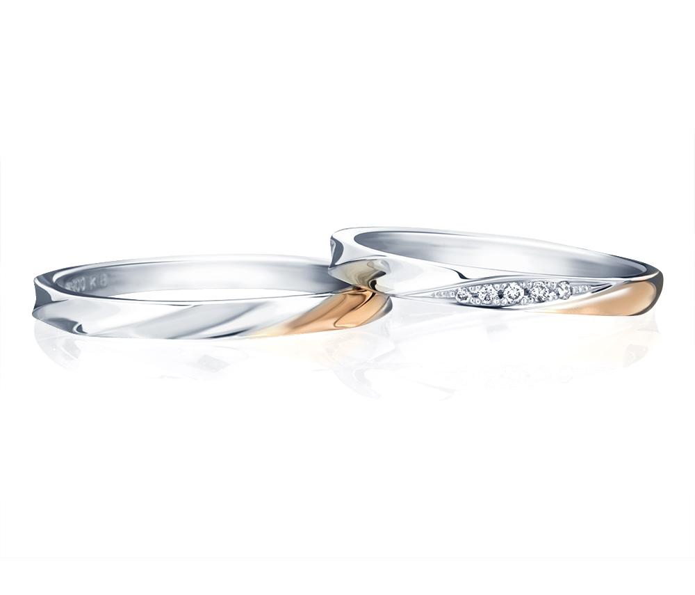 コンビネーション結婚指輪